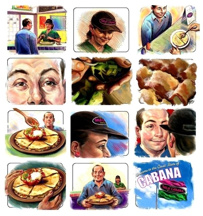 Taco Cabana Board-1 - storyboard - doritart | ello