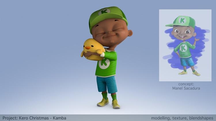 Kamba- Character worked Kero Ch - rubenmartins | ello