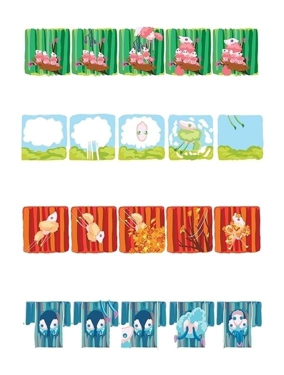 Beep seasons - seasonspirits, comic - anndorphin   ello
