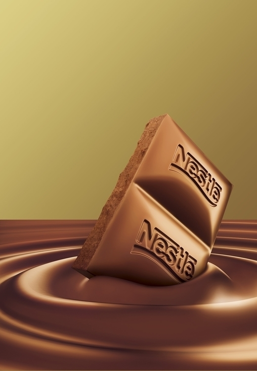 Nestle - #illustration#Anshul#Dabral#3d#3dsmax#illustration#digitalart#design#characterdesign#photoshop#painting#davisvrworks#drawing#conceptart#liquid#liquid3d#delhi#india#liquidsimulation#advertising#vray - anshuldabral | ello