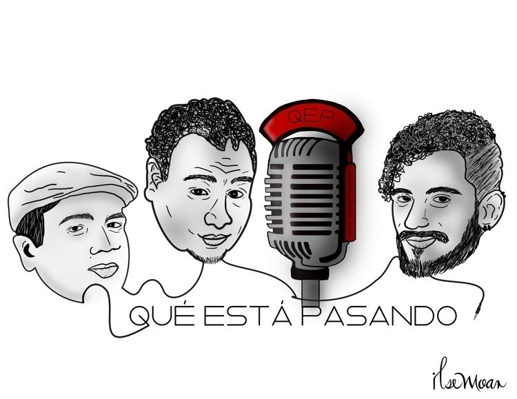 QEP RADIO LOGO - digitalillustration - ilsemoar | ello