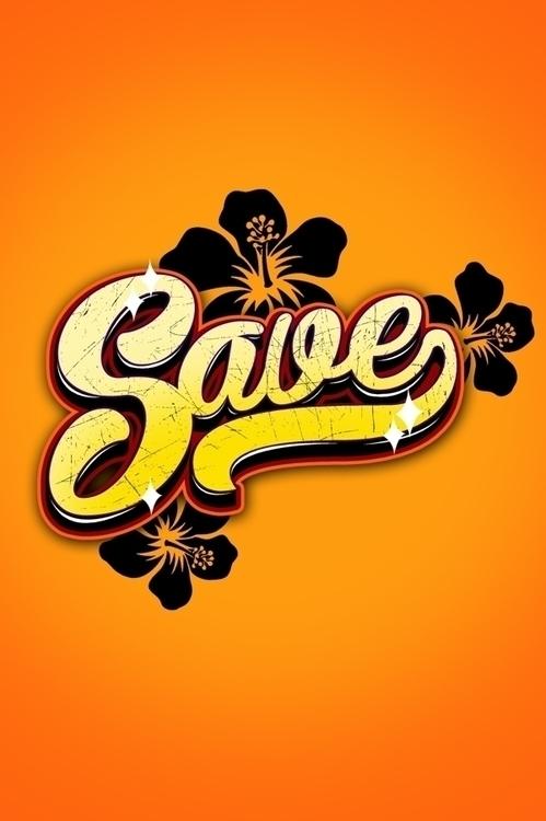 SAVE - typography, mattdesign - mattaguinaldo | ello