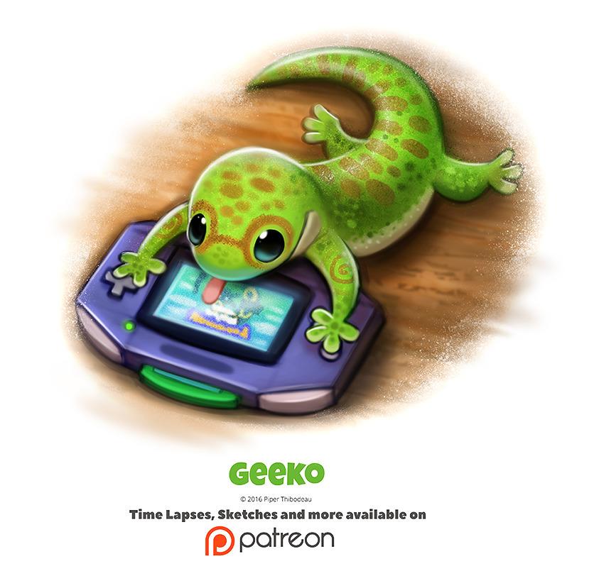 Daily 1347. Geeko - piperthibodeau | ello