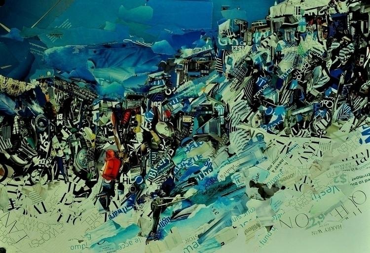 collage, snowscape - sukantad | ello