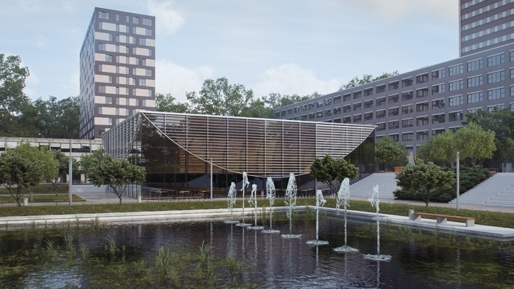 architecture, digitalart - hramovsky | ello
