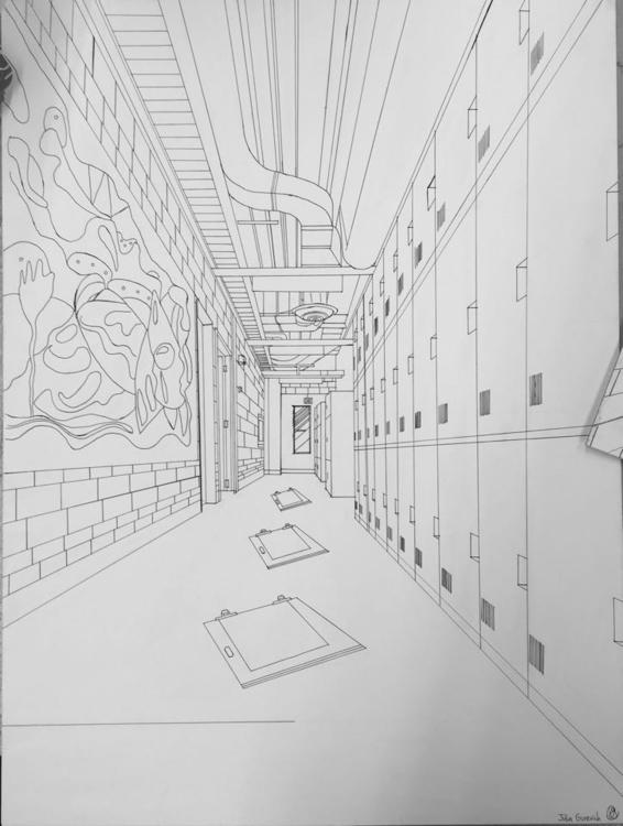 mapped hallway examine perspect - juliagurevich | ello