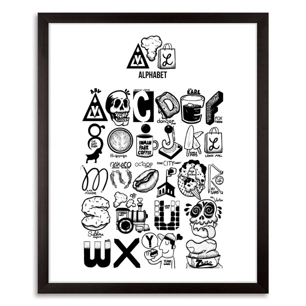 ATL Alphabet 2017 - art, artist - johnnydraco | ello