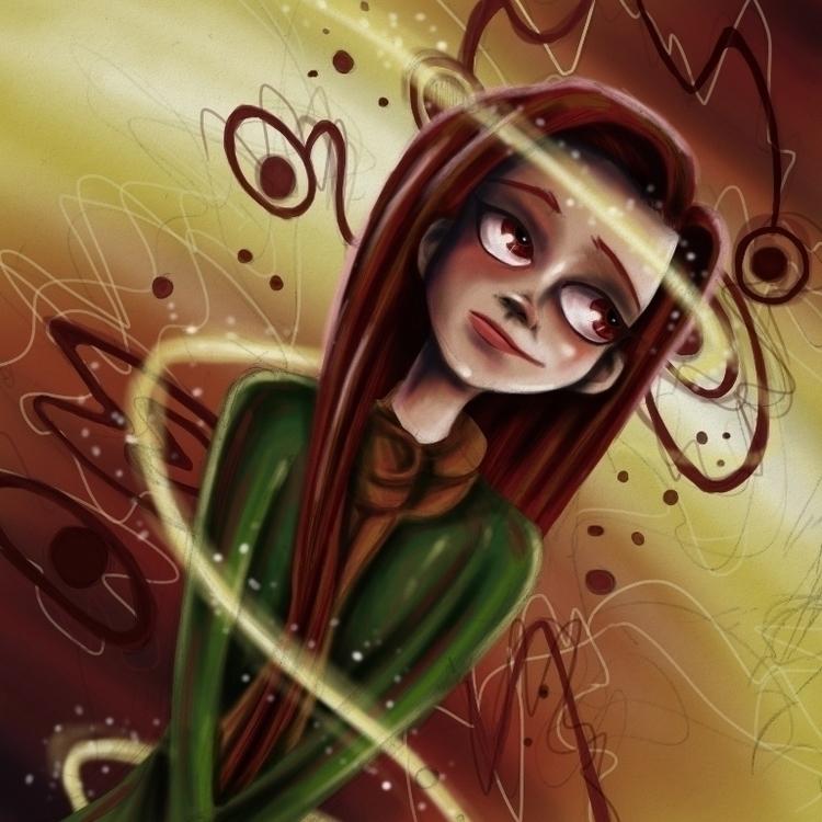 Psychedelic Girl Donogh McLaver - donoghmclaverty   ello