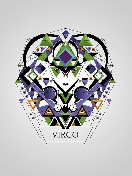 virgo - illustration, digitalart - juanco-1165 | ello
