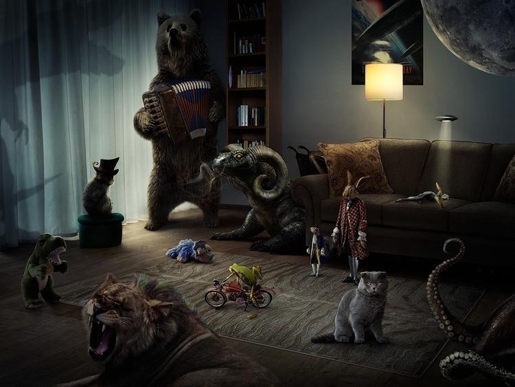 Independence Day - animals, postproduction - elena_g-1216   ello