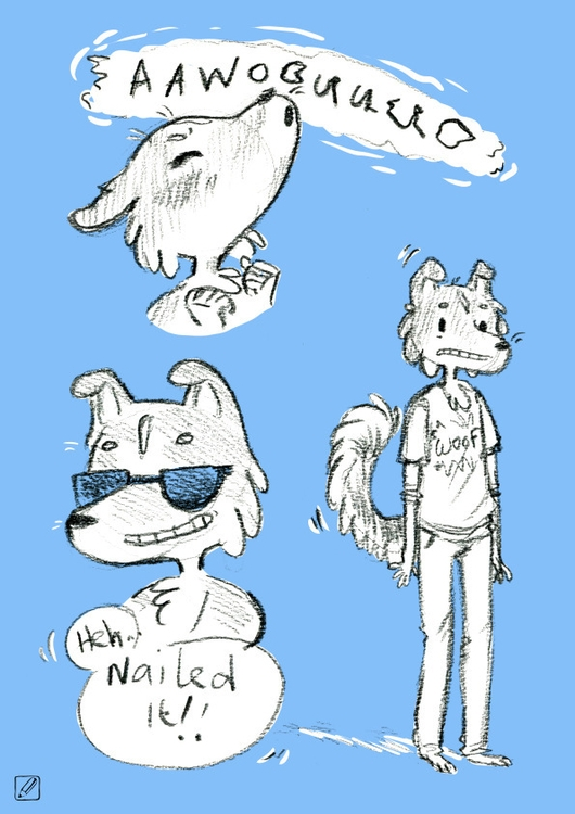 Jake - illustration, sketch, scribbles - pencilboxillustration | ello