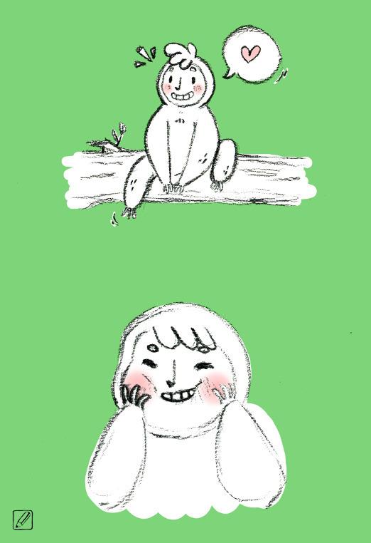 Carrot Turnip - illustration, sloth - pencilboxillustration | ello