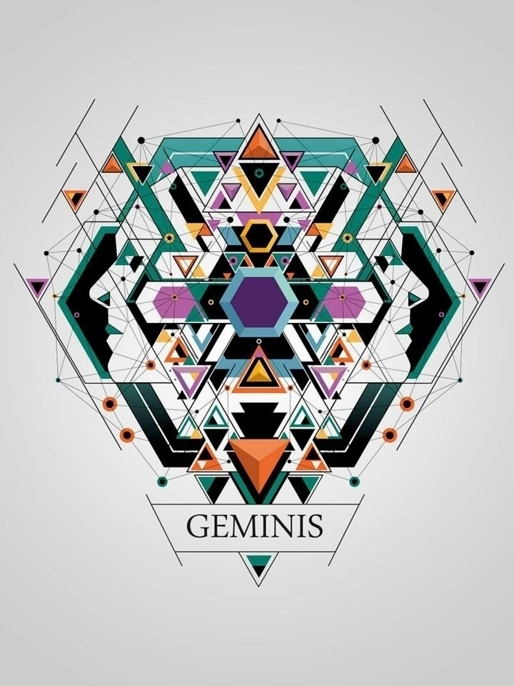 geminis - illustration, digitalart - juanco-1165 | ello