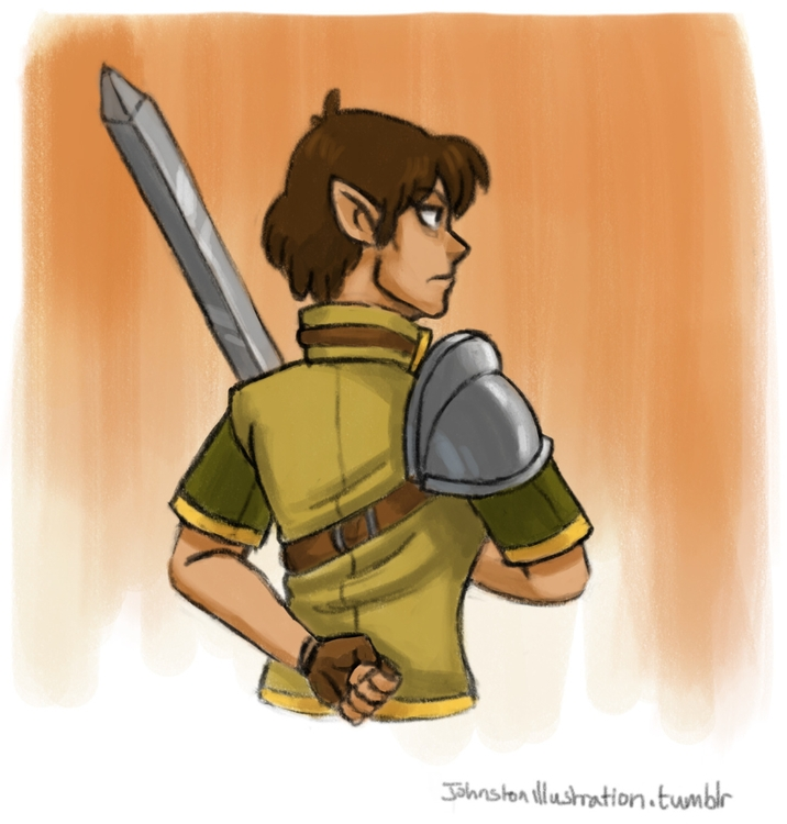 Elven warrior training - adventure - alexjohnston | ello