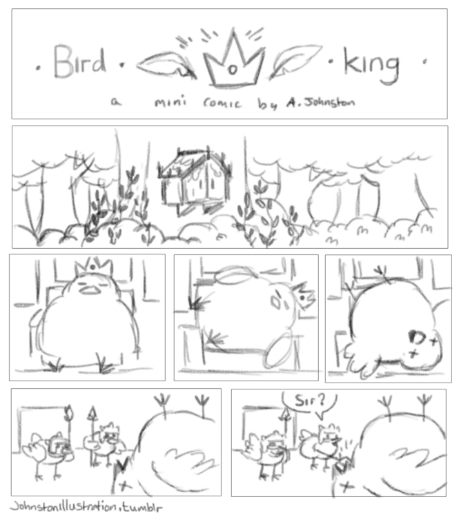 page mini comic called Bird Kin - alexjohnston | ello