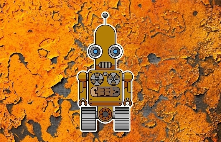 robots - drawing, conceptart, illustration - ans-9428 | ello