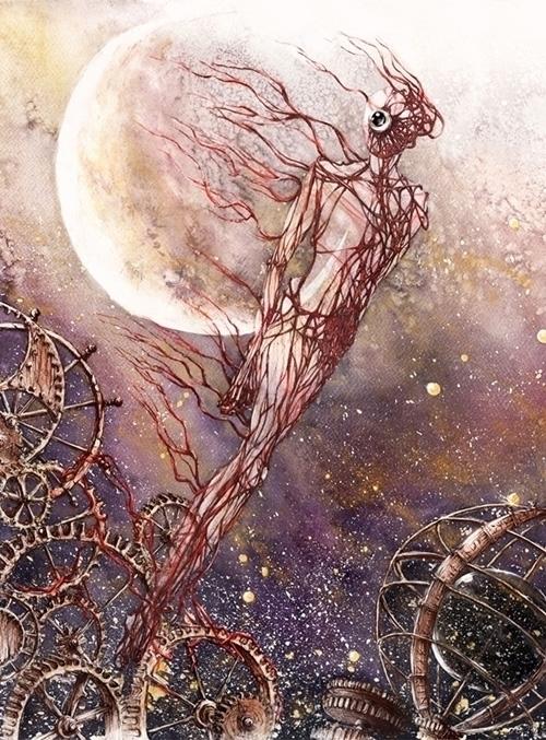 illustration, fantasy, horror - grimdream | ello