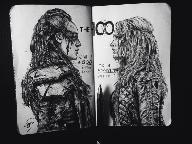 Commander Lexa Clarke Griffin - the100 - tututmo | ello