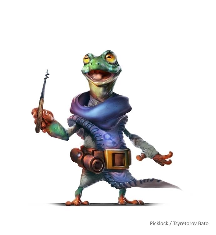 frog, picklock - khlaalu | ello