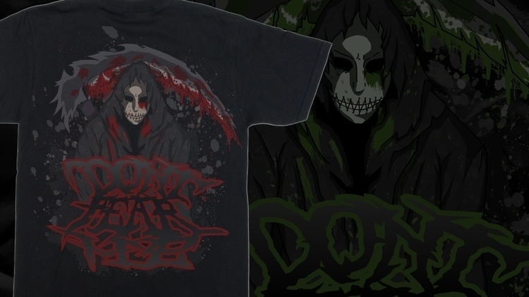 Ripper - illustration, design, tshirts - w8id | ello