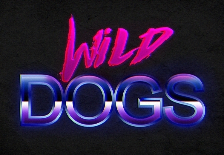 retro Wild Dogs crew Design - illustration - w8id | ello