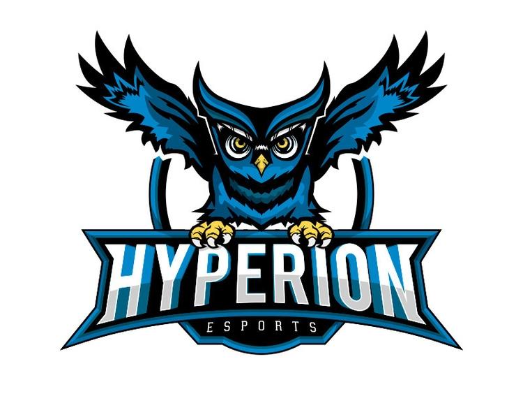Hyperion eSports - logo, illustration - jrobald | ello