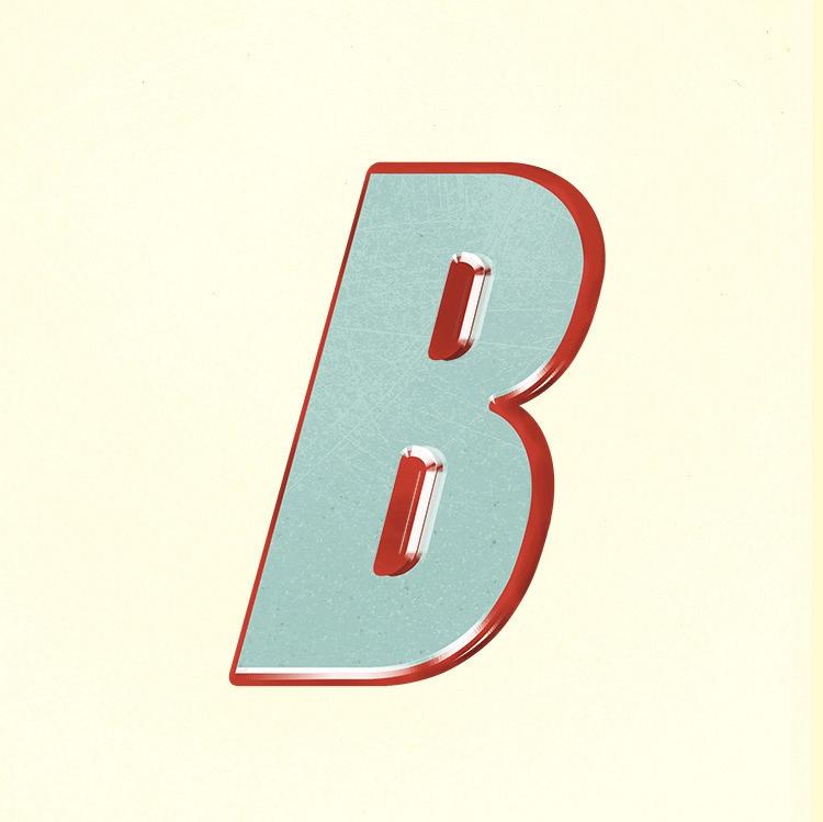 typography, lettering, retro - brian77-7971 | ello