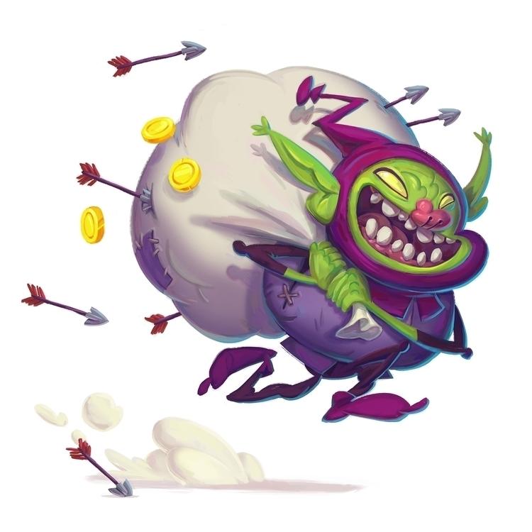 Goblin Theif - characterdesign, goblin - tommonster | ello