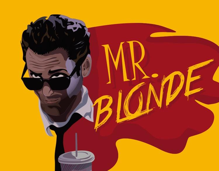 Blonde - illustration, digitalart - jrobald | ello