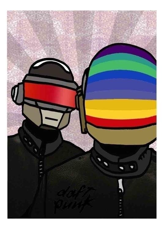Daft Punk - arnaudpages | ello