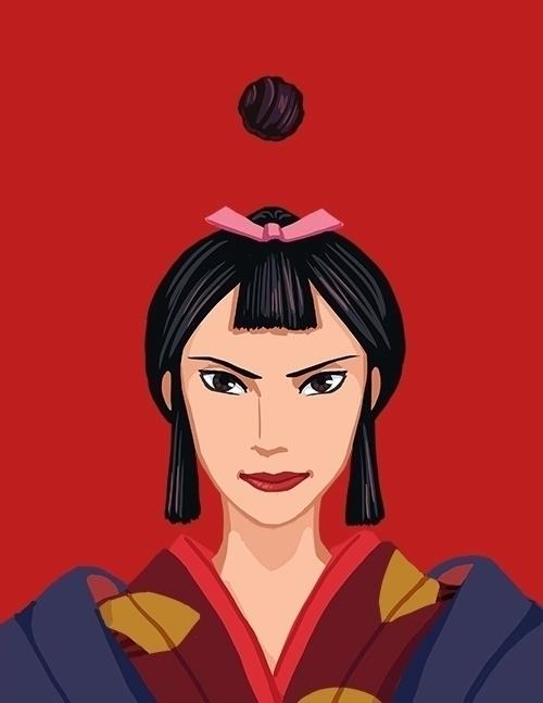 Lady Eboshi - fanart, hayaomiyazaki - anndorphin | ello