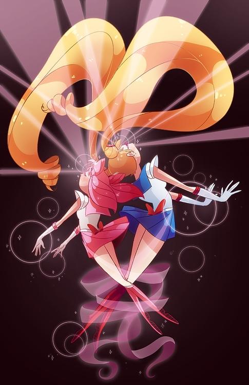 Sailor moon print month - sailormoon - jackie-1213 | ello