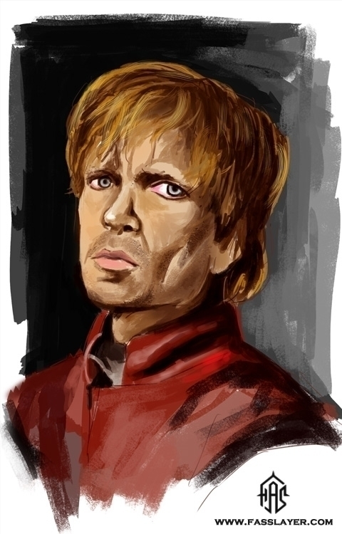 Tyrion Lanister digital paintin - fasslayer | ello