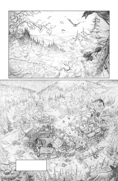 morsures p1 pencil - illustration - jovanukropina | ello