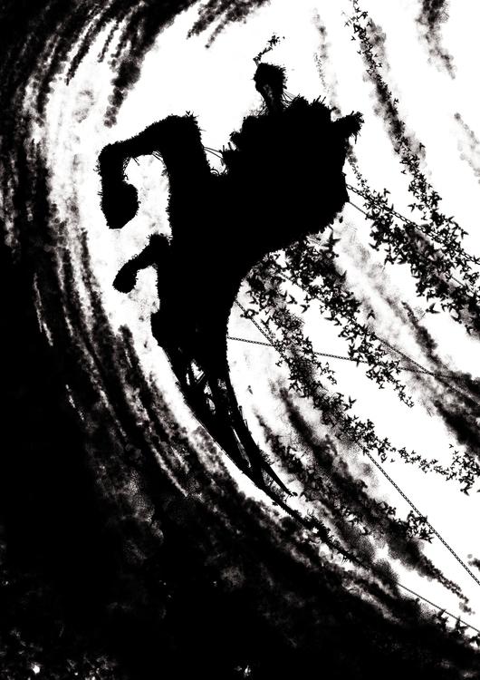 cavalier - illustration - entropie-1385 | ello