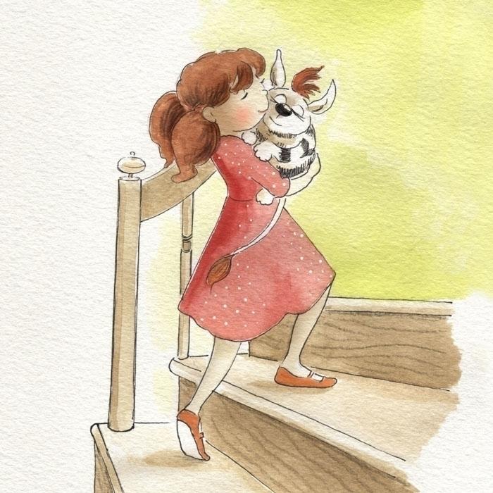 illustration, watercolor, watercolour - joannapasek   ello