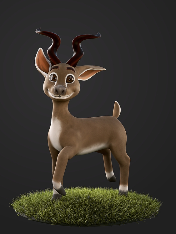 Animal - characterdesign, 3d - joseolmedo | ello