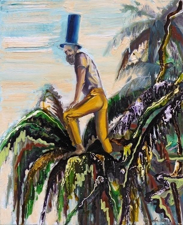 Apprentice oil,varnish canvas,1 - lyube | ello