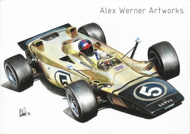 Lotus 56B - Emerson Fittipaldi  - aalexwerner | ello