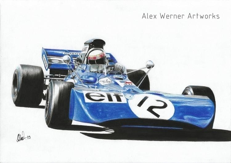 Tyrrell 003 - Jackie Stewart 19 - aalexwerner | ello