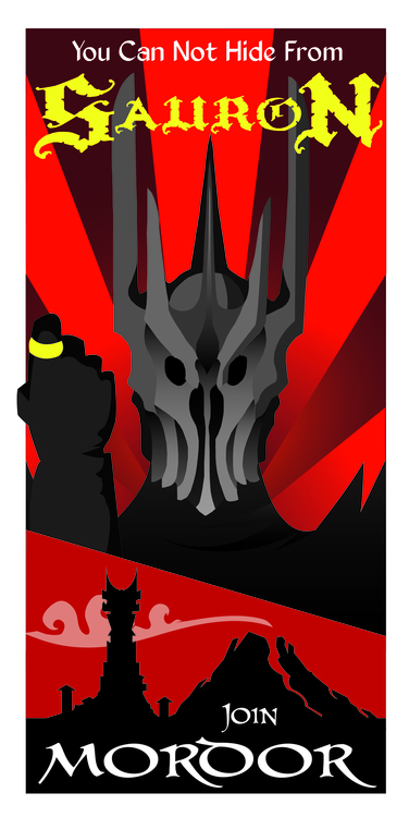Join Mordor - thelordoftherings - justinoden   ello