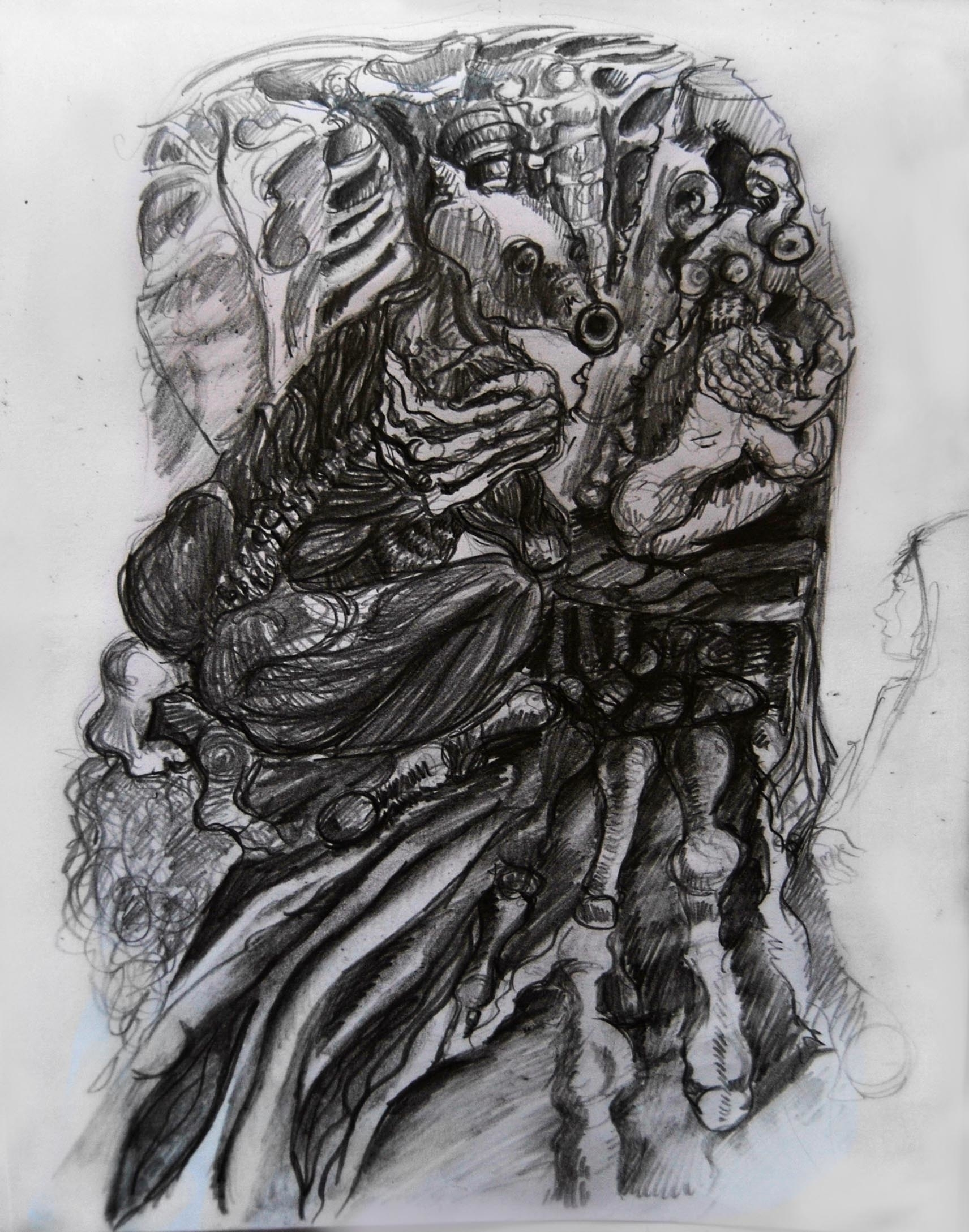weird world horror 2 - illustration - wickedbastet1982   ello