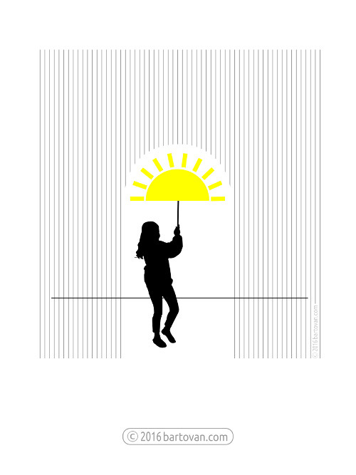 Sunbrella - drawing, minimalistic - bartovan-1056 | ello