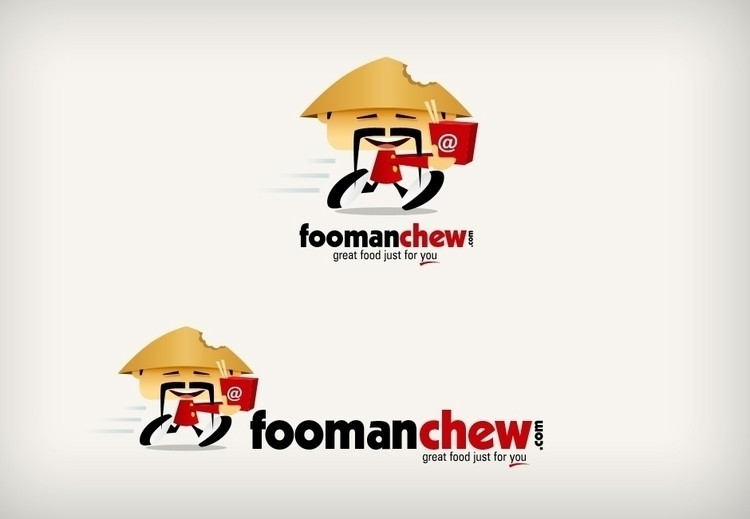 Foomanchew - logo, visualidentity - dasaideabox | ello