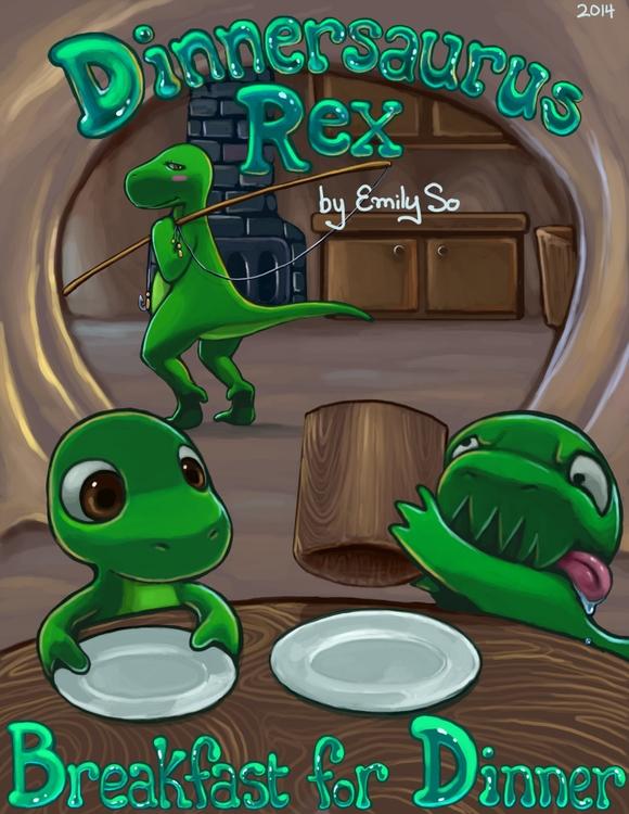 Cover Breakfast Dinner - illustration - emilyso321   ello