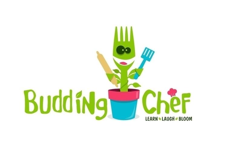 Budding Chef - logo, graphicdesign - dasaideabox | ello