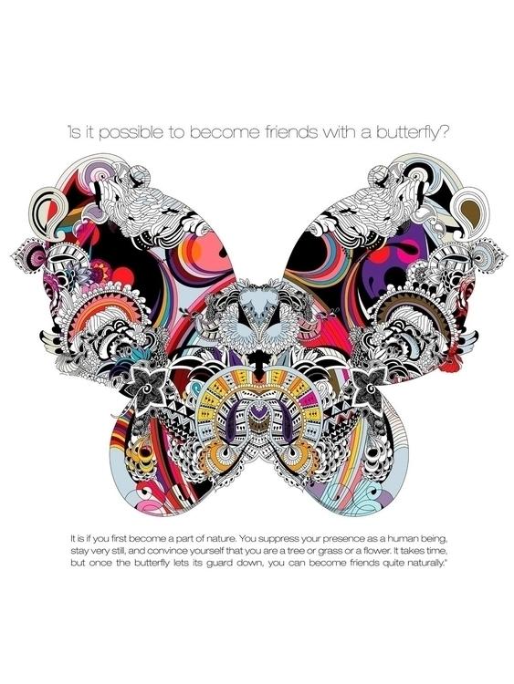 BUTTERFLY EFFECT - fashion, illustration - ancastefanescu | ello