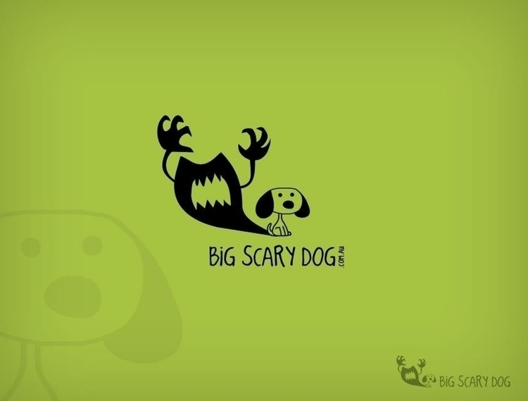 Big Scary Dog - graphicdesign, logo - dasaideabox | ello