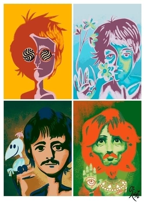 Psychodelic Beatles 2013 - psychedelic - rogerhoyosp | ello