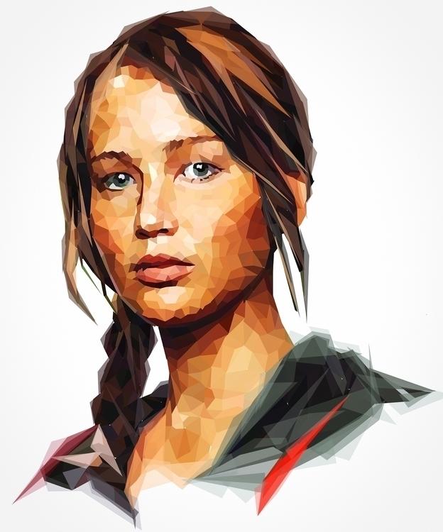 Katniss - katniss, hungergames, actress - roxycolor | ello
